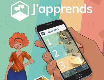 J'APPrends une application qui vous aide à apprendre le français