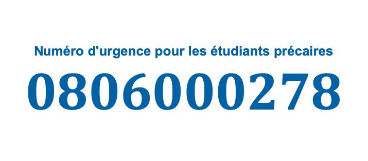 Un numéro d'urgence pour les étudiants précaires